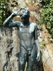 Statue im Innenhof